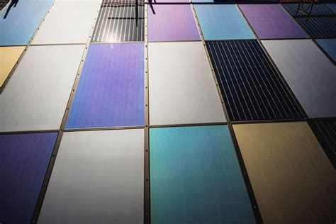 kind coloured solar panels  emirates