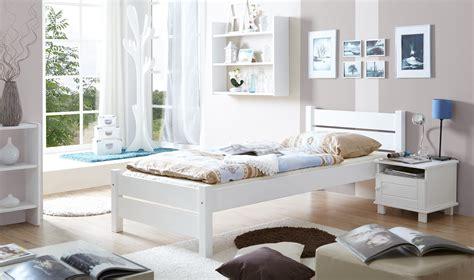 Einzelbett Weiß 100x200 by Einzelbett 100x200 Mod 857538 Kiefer Weiss H C M 246 Bel
