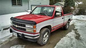 1993 Chevrolet Silverado 1500 Truck Pickup Short Bed Regular Cab 4x4 For Sale In Silver Plume
