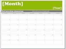 Microsoft Office Calendar Template 2018 Templates Station