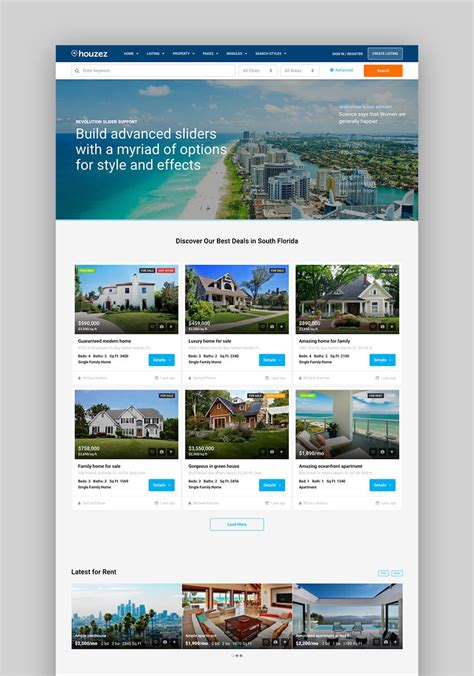 Real Estate Themes 20 Best Real Estate Themes For 2017 Websites