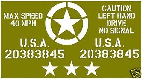 military stencils  noosta direct militaria shop
