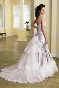 wedding dresses with purple accents wedding light purple brilliant wedding dress