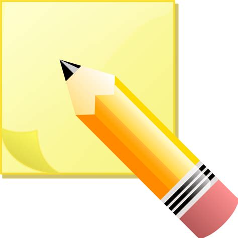 Notes Clipart Office Notes Clipart