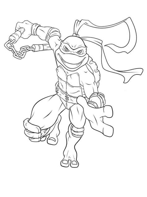 mutant ninja turtles coloring pages   print