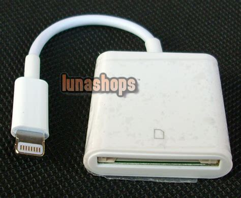 sd card reader for iphone 5 8 00 oem sd card reader for 5 ipod ls001838