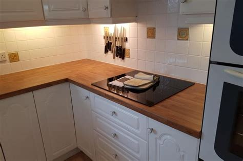 Kitchen Flintshire by Solid Wood Worktop Fitters West Wales