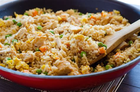 fried rice chicken fried rice recipe dishmaps