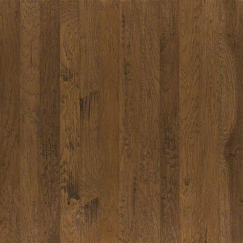 "Shaw Pebble Hill Hickory 5"" Burnt Barnboard Engineered"
