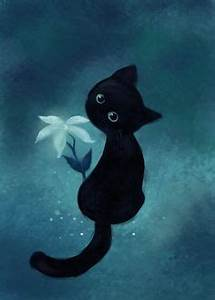 Cats in Art on Pinterest | Cat Art, Blue Cats and Black Cats