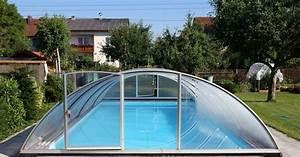 Tarif Piscine Enterrée : quel est le prix d 39 achat d 39 un abri de piscine ~ Premium-room.com Idées de Décoration