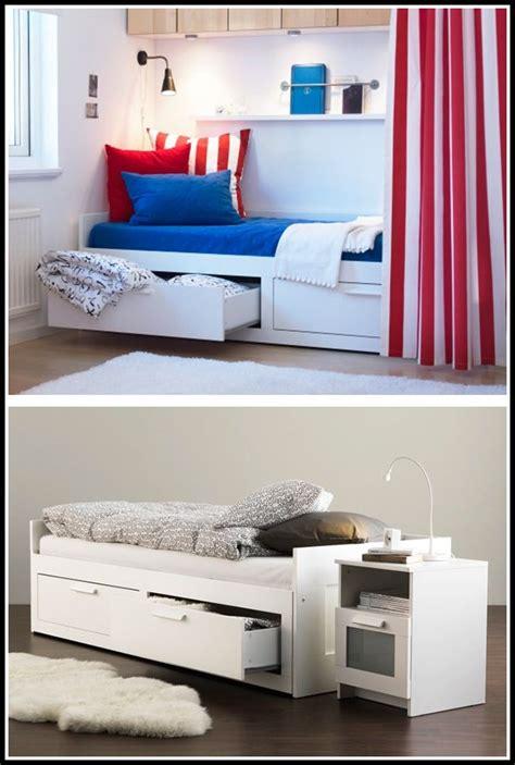 Ikea Flaxa Bett Mit Schubladen  Betten  House Und Dekor