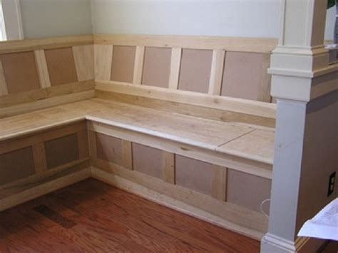 diy kitchen bench with storage custom made built banquette furniture seating breakfast 8753