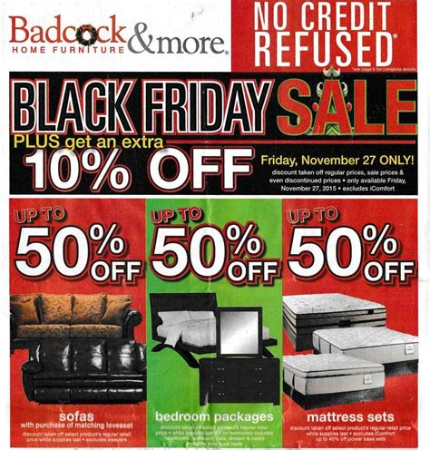 badcock home furniture more 2015 black friday ad