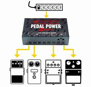 Diy Rechargeable Pedalboard Power Supply