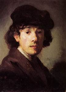 Portrait of Rembrandt as a young man by Rembrandt