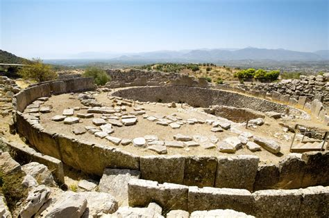 Archaeological Site Of Mycenae