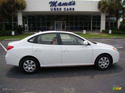 Hyundai 2008 Elantra by 2008 Captiva White Hyundai Elantra Gls Sedan 14587017