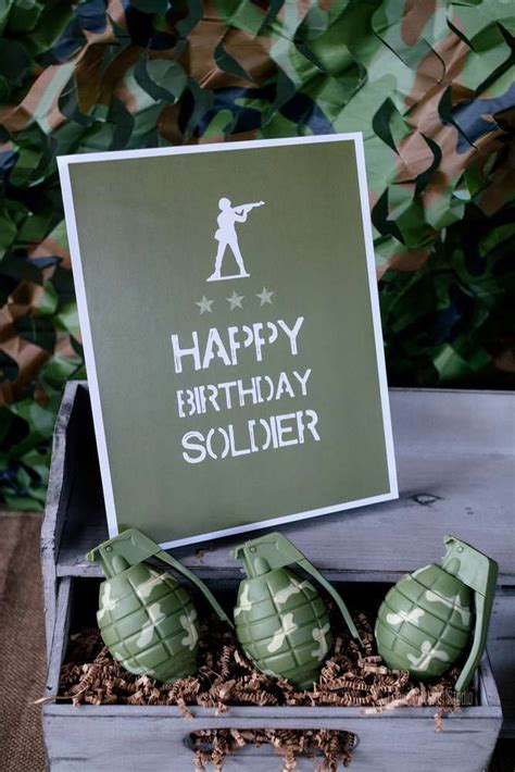 awesome army military birthday party   party ideas