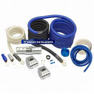 Shd-pkd1  4 Gauge Dual Amplifier Wiring Kit