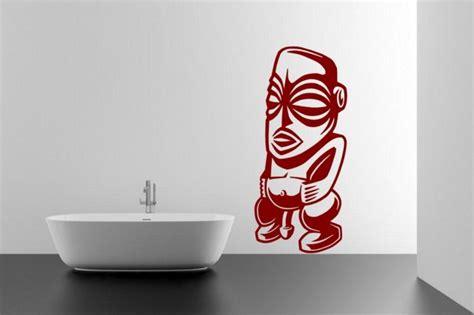 aztec statue ancient god  sex large wall sticker