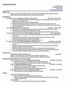 Adding internship to resume best resume gallery for Federal style resume