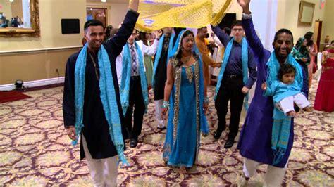 brides entrance  indian mehndi ceremony  gta
