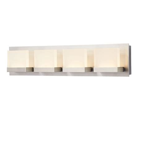 led bathroom vanity light home decorators collection alberson collection 4 light