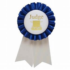 Rosette Chili Judge Pin