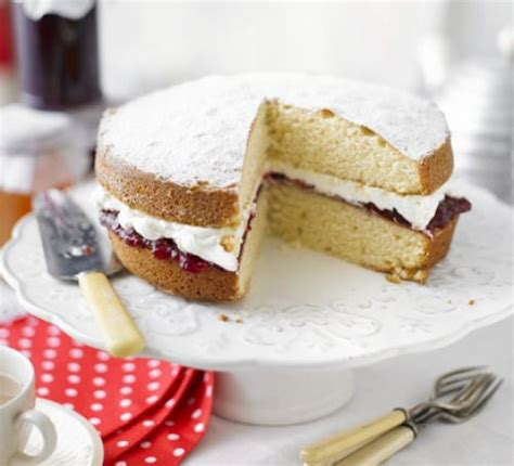 grannys victoria sponge recipe bbc good food