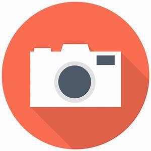 Dslr Camera Icon | Free Flat Multimedia Iconset | DesignBolts
