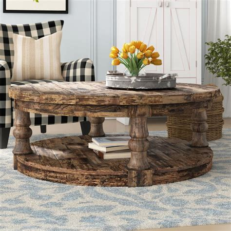 Buying a farmhouse coffee table isn't really a big deal if you know exactly what you want. Gracie Oaks Amstel Farmhouse Coffee Table & Reviews | Wayfair
