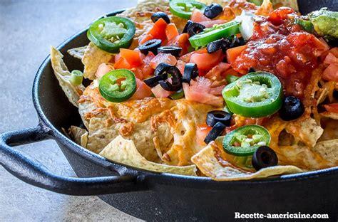 plats de cuisine nachos façon mexicaine