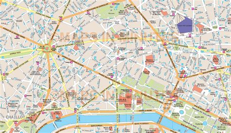 connu paris tourist map wz montrealeast