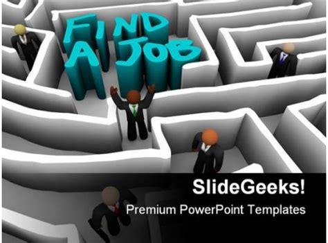 people find  job competition powerpoint templates