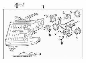 2015 Chevrolet Suburban Composite Assy  Headlamp Assy