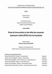 Composés Organiques Volatils : pdf tude de l 39 accumulation et des effets des compos s organiques volatils btex chez les ~ Dallasstarsshop.com Idées de Décoration