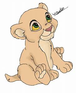 Bebe Nala Baby Nala in Lion King by Asuna26 on DeviantArt
