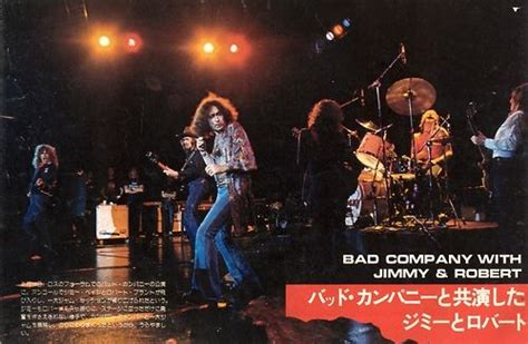 LED Zeppelin with Bad Company