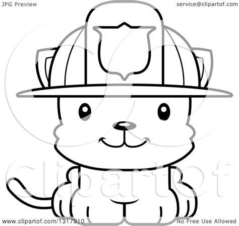 animal lineart clipart   cartoon black  white cute