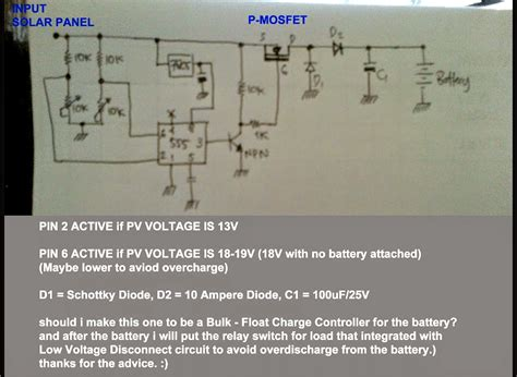 Simple Solar Mppt Circuit Homemade Projects