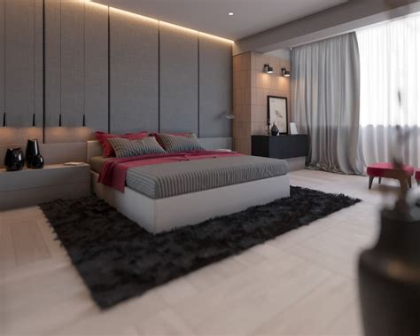 Chambre Contemporaine Grise - chambre grise cosy 6 visualisations à découvrir pour