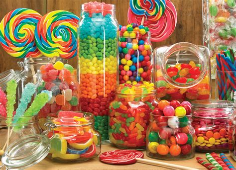 Create Your Own Carnival Theme Candy Buffet