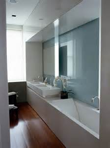 modern bathroom design ideas small spaces tackling narrow bathroom layouts livinghouse