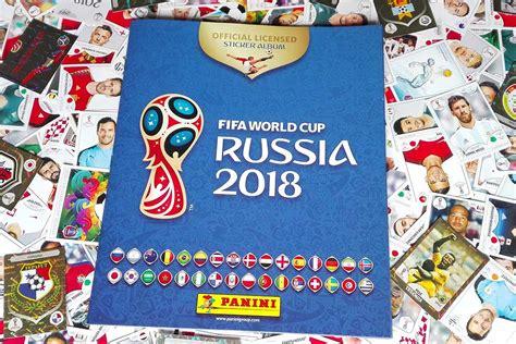 Panini Fifa World Cup Russia 2018 Official Sticker Album