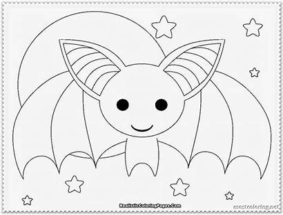 Bat Coloring Pages Really Printable Fruit Realistic