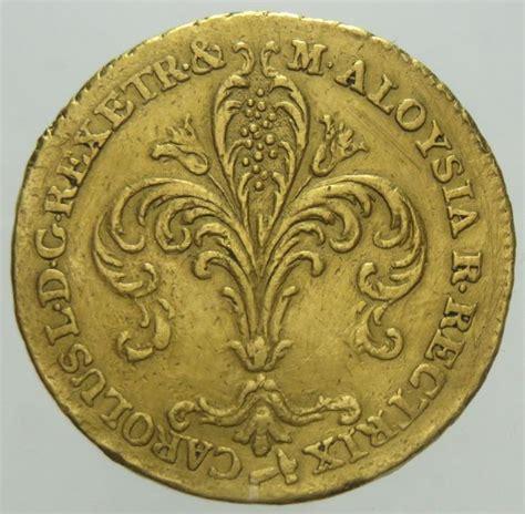 etruria oro regno d etruria ruspone 1807 carlo ludovico di borbone