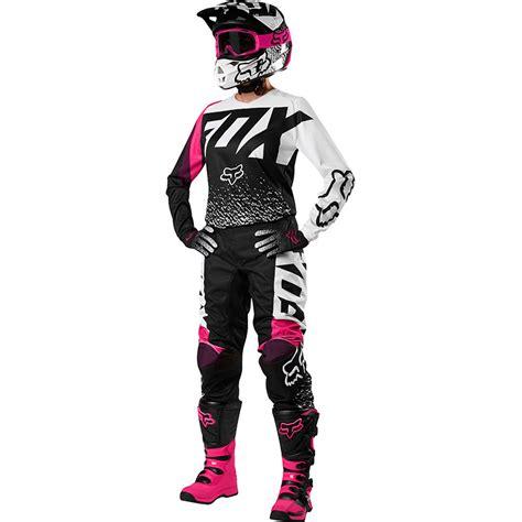 fox womens motocross fox 2018 180 black pink womens gear combo at mxstore
