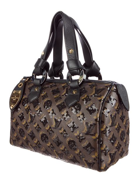 louis vuitton monogram eclipse speedy  handbags