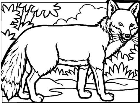 dessin renard facile 16 dessins de coloriage renard roux 224 imprimer